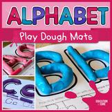 Alphabet Activities, Alphabet Playdough Mats