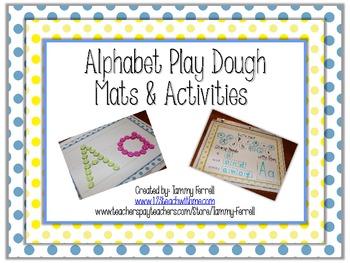Alphabet Play Dough Mats and Activities