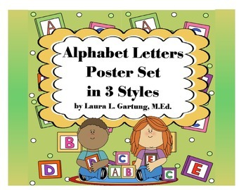 Alphabet Poster Set 3 Ways