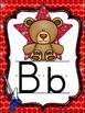 Alphabet Posters Rock Star Theme