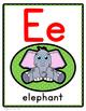 Alphabet Posters : A-Z Animals