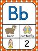 Alphabet Posters A-to-Z ~ Rainbow Polka Dot Theme
