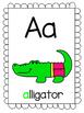 Alphabet Posters- Animals in Underwear!
