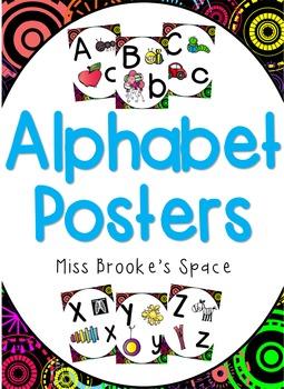 Alphabet Posters - Classroom Displays