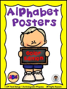 Alphabet Posters (Color Edition)