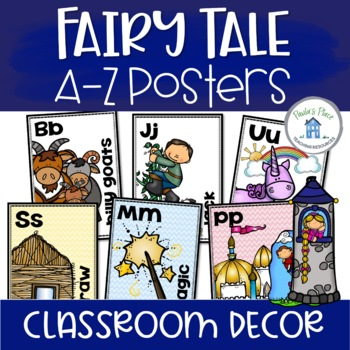 Alphabet Posters - Fairy Tale Theme