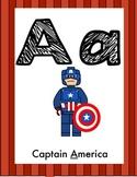 Alphabet Posters (Lego Like Building Block Theme)