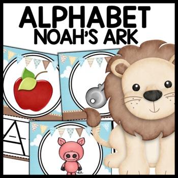 Alphabet Posters (Noah's Ark)