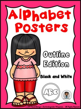 Alphabet Posters (Outline Edition)