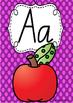Alphabet Posters Rainbow Spotty - NSW Foundation Cursive