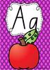 Alphabet Posters Rainbow Spotty - QLD Beginners Font