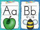 Alphabet Posters: Print and Cursive (School Brights)