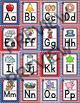 Alphabet Posters - Stars and Stripes Patriotic Theme Classroom
