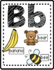 Alphabet Posters: Uppercase and Lowercase with Beginning S