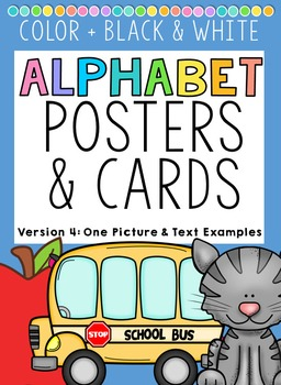 Alphabet Posters and Cards Set 4