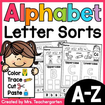 Alphabet Letter Sorts