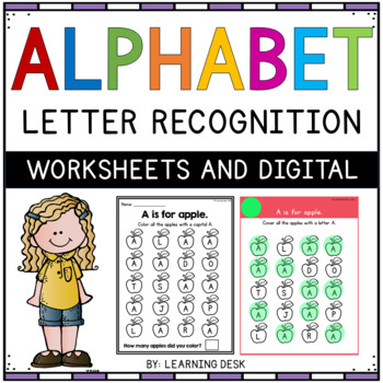 Alphabet Worksheets (Find and Count)