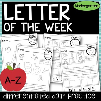 Alphabet Practice -- Sounds, Recognition, and Handwriting