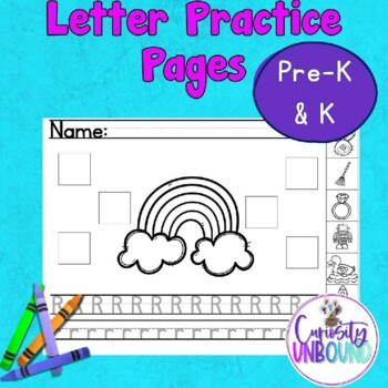 Alphabet Practice Pack: Initial Sounds