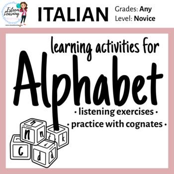 Alphabet Practice in Italian