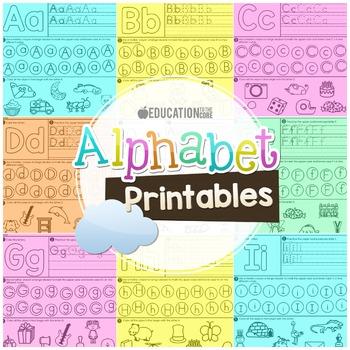Alphabet Printables, Alphabet Activities, Letter Recognition