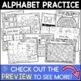 Alphabet Printables No Prep BUNDLE