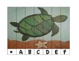 Alphabet Puzzle Strips