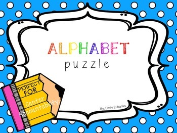 Alphabet Puzzle with Accountability