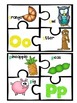 Alphabet Puzzles Color and B&W