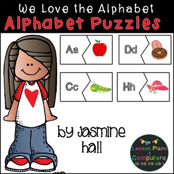Alphabet Puzzles Literacy Center