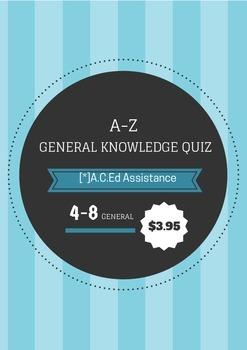 Alphabet Quiz!