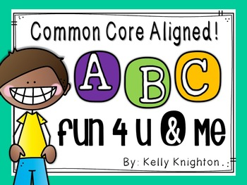 Alphabet Recognition, Formation & Phonemes: Materials for