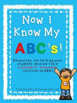 Alphabet Recognition Resources