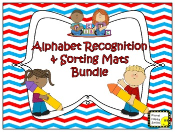 Alphabet Recognition & Sorting Mat Bundle