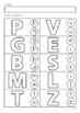 Alphabet & Letter Sounds Review No Prep