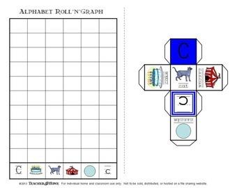 Alphabet RollNGraph