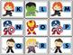 Alphabet Roll, Say, Keep (Super Hero)