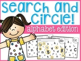 Alphabet Search and Circle Sheets
