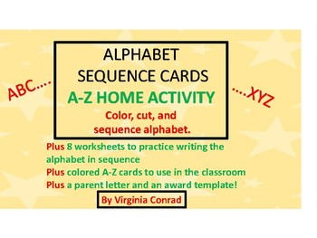 Alphabet Sequence Mini-Unit