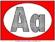 Alphabet Set of posters (Red)