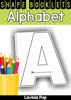 Alphabet Shape Booklets
