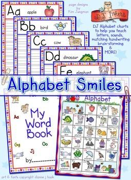 Alphabet Smiles Printable Workbook Download