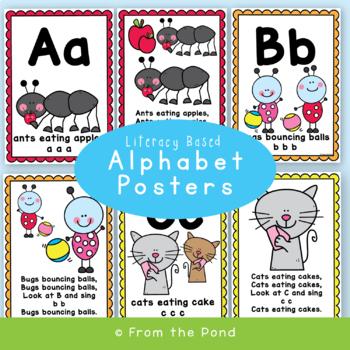 Alphabet Song Posters {Beginning Sounds}