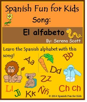 Alphabet Song in Spanish