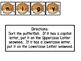 Alphabet Sort File Folder Game