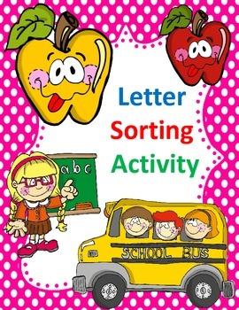 Alphabet Sort:  Sorting Letters Activity