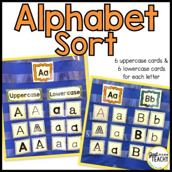 Alphabet Sort, Uppercase & Lowercase