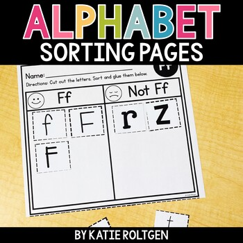 Alphabet Sorting Pages