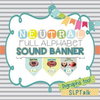 Alphabet Sound Banner - Neutral Version