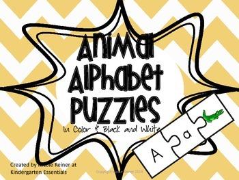 Alphabet Sound Puzzles